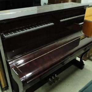 apollo burgundy used piano for sale