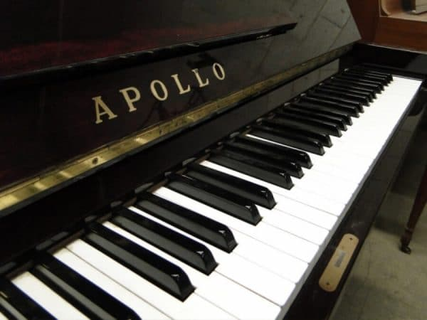 apollo burgundy used piano toronto