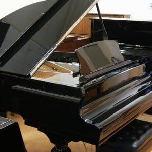 gerhard heintzman black grand piano toronto