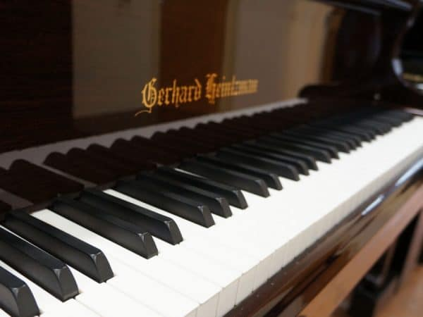 gerhard heintzman brown grand piano