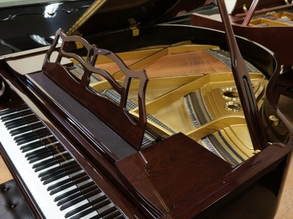 gerhard heintzman brown grand piano new