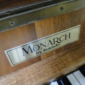 monarch by baldwin used piano sale