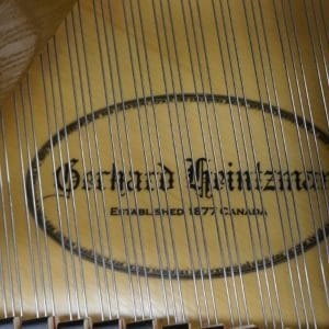 new gerhard heintzman grand piano