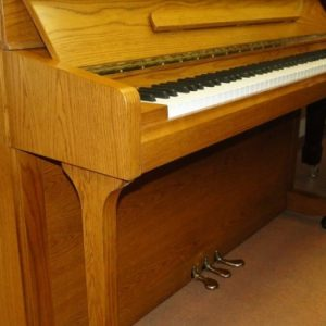 new oak hoffman and kuhne piano